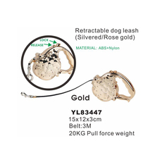 Auto Retractable 20KG Full Force Weight Pet Leash