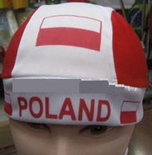 WM 2018 Poland fan bandana pirate hat