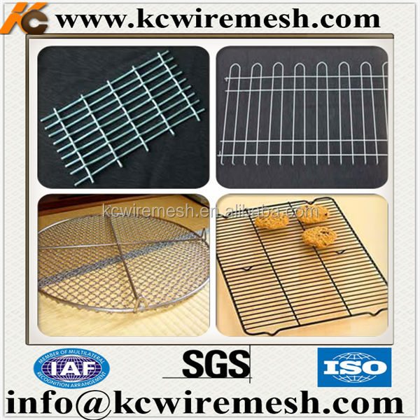 Stainless Steel Welded Barbecue Grill Wire Mesh .