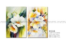 Handmade Oil paintings scenery painting pictures interior wall flower painting