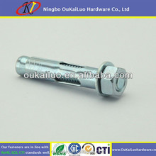 hexagon nut head Zinc plated Sleeve Anchors/wedge anchor/perno expansion