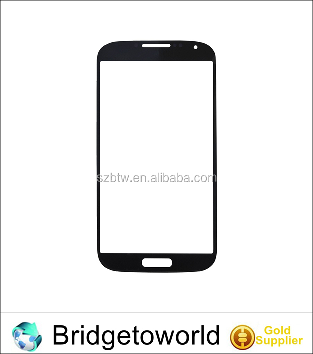 Black White Front Outer Lens Glass Screen Cover Replacement For Samsung Galaxy S4 mini I9190
