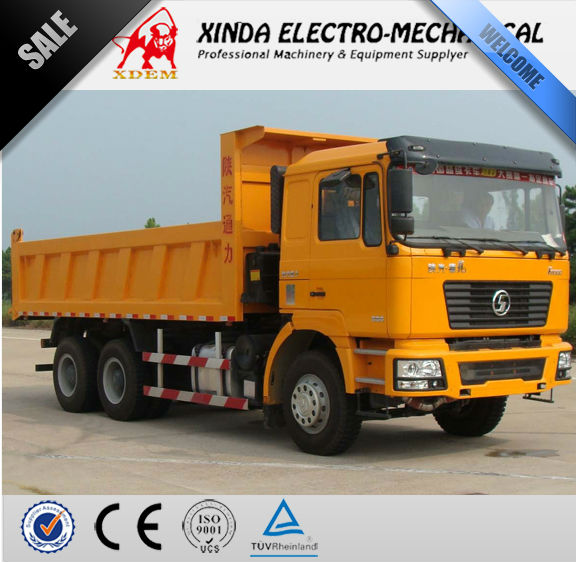 Shanxi SHACMAN DLONG F2000 6x4 247kw Euro 3 China Heavy Dump Truck SX3255DM404 for sale