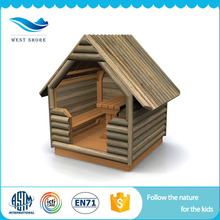 wholesale new design outdoor kids wooden cubby house
