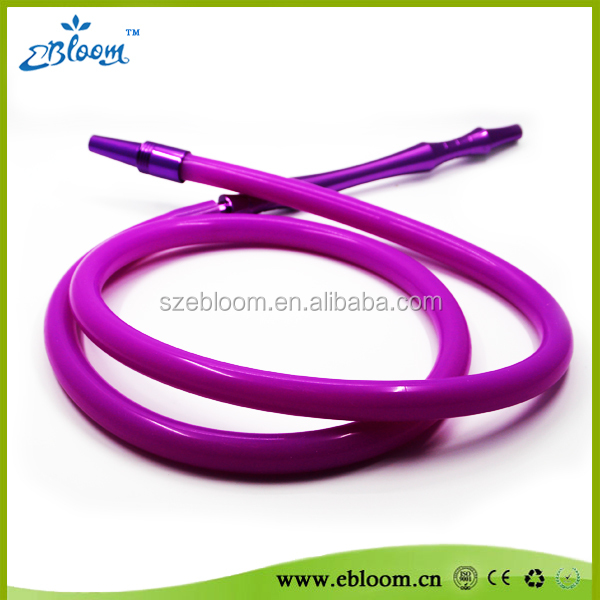 Colored silicone cheap shish hookah hose with distributor offer