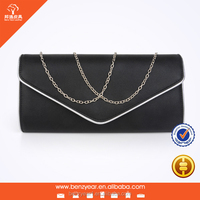 Handmade evening party bag leather woman clutch bag