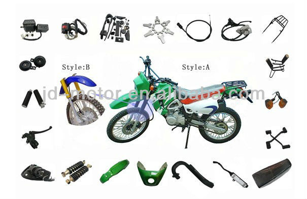 wholesale ZS200GY parts for Chinese motorcycle