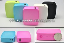 avoiding overcharge mini power bank for iPad, iPhone, Kindle, camera, bluetooth headset