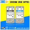High quality Refilled ink cartridge for Canon PG-40 CL-41
