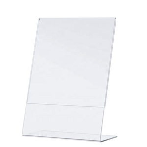 "[Sinfoo] 8.5x11"" Sign Holder Acrylic Display Stand"