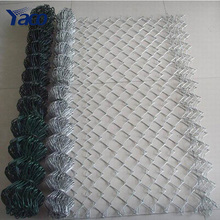 Factory price 6 gauge pvc coated chain link fence chain link fence price for sale alibaba