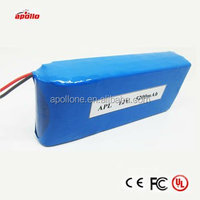 5.2Ah 12V 18650 lithium ion battery packs for medical device