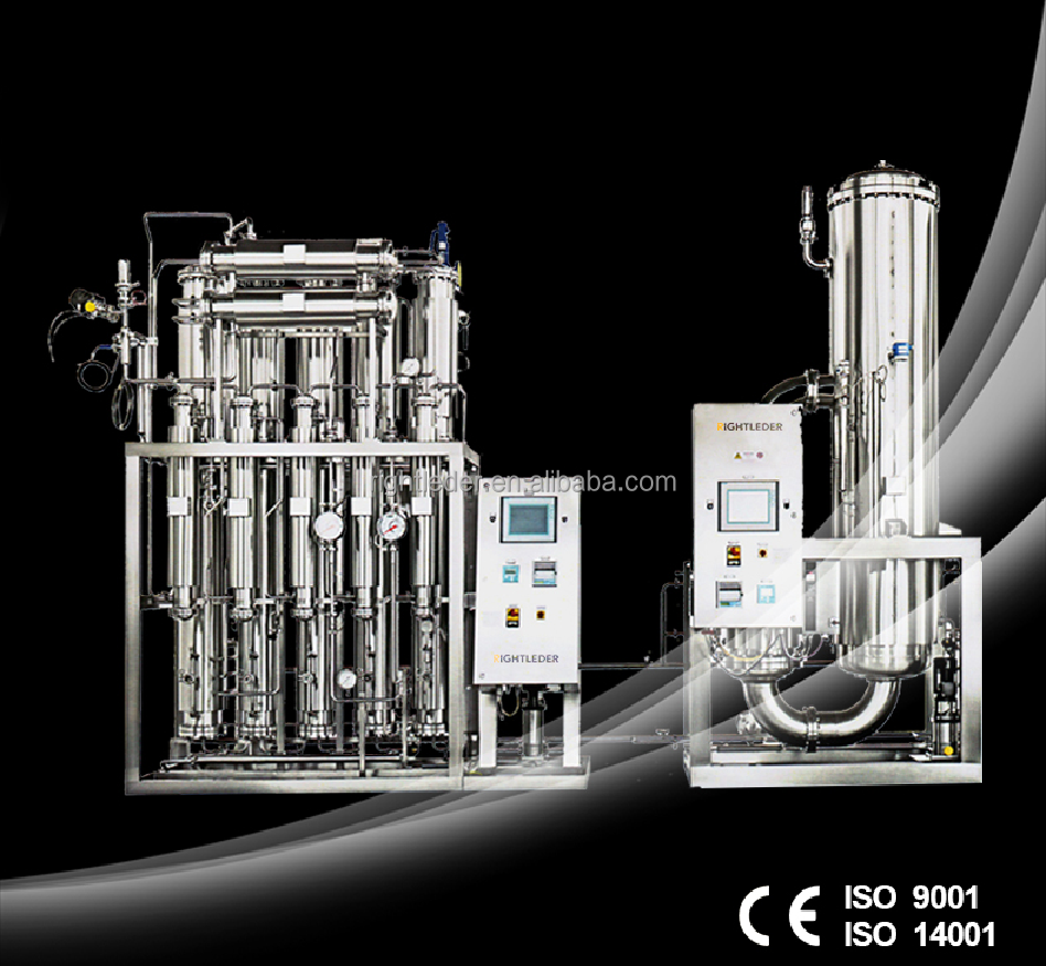 Pharmaceuticle Purified Water Equipment With Dual Stage Reverse Osmsosi