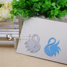 Elegent swan cutting dies for scrapbooking cards