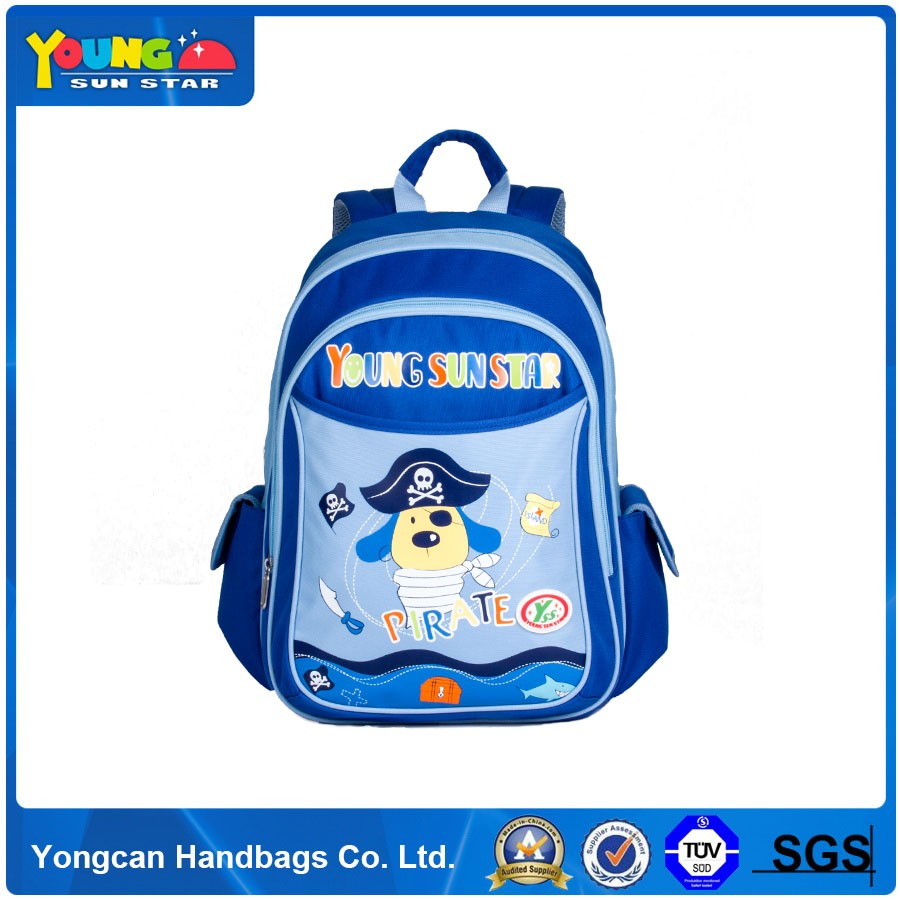 Lovely cartoon design Dog backpack School Bag for children