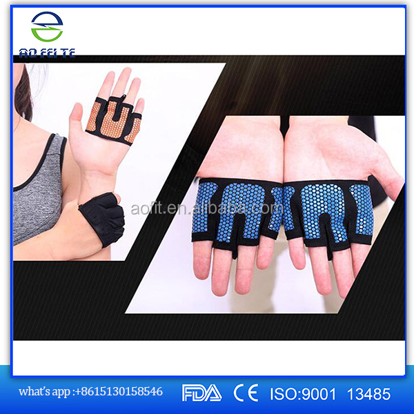 Weight Lifting Workout Body Building Gym Half Finger Fitness bike Gloves