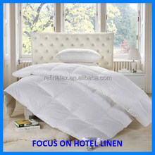 Hot Selling Wholesale Hotel Goose /Duck Down Duvet, White Patchwork Quilt