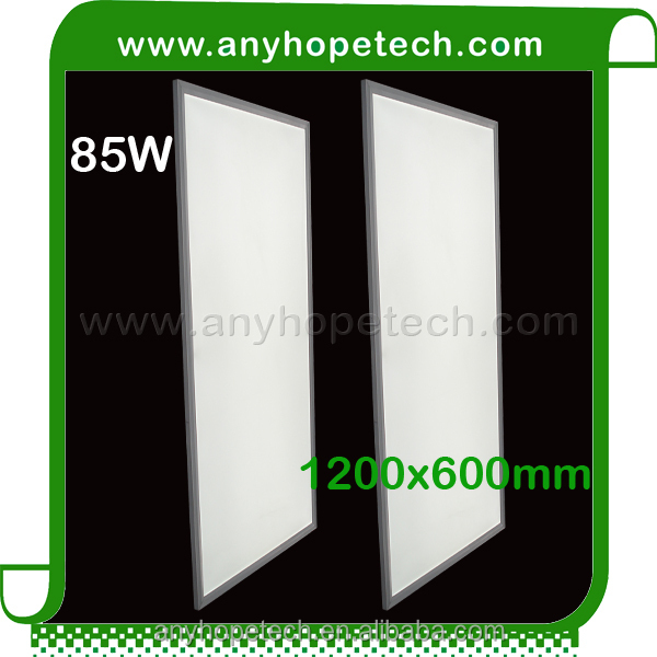 warm white 3000K CRI 95 led panel 600x1200 dimmable 72w