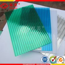 100% Lexan Material 10 years Guarantee Polycarbonate Hollow Sheet PC Greenhouse Cover Roofing Panel