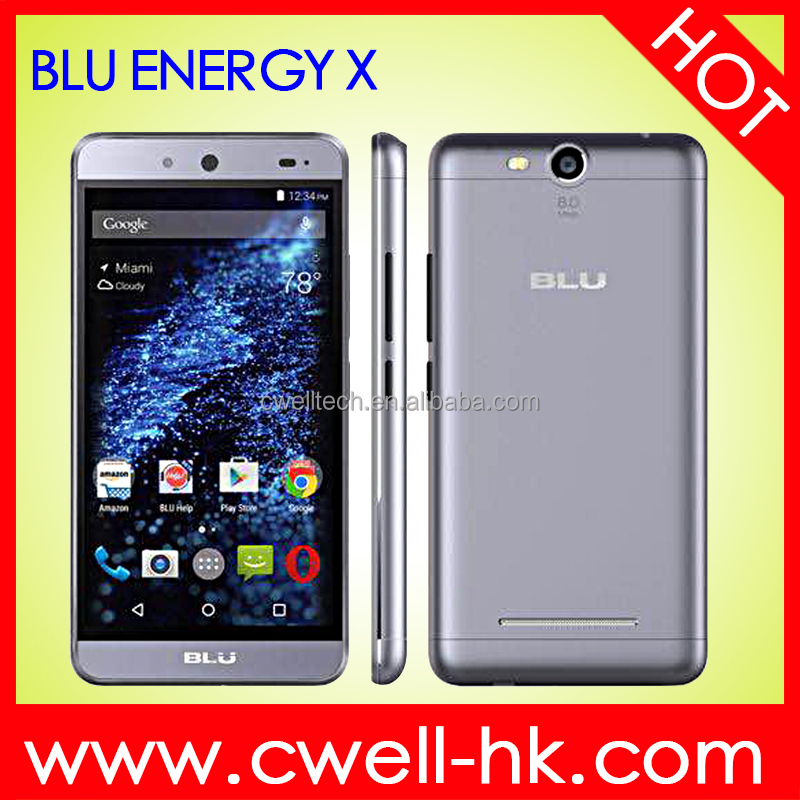 BLU ENERGY X Dual SIM Card 5 Inch IPS Touch Screen Quad Core Android 5.1 China Smartphone