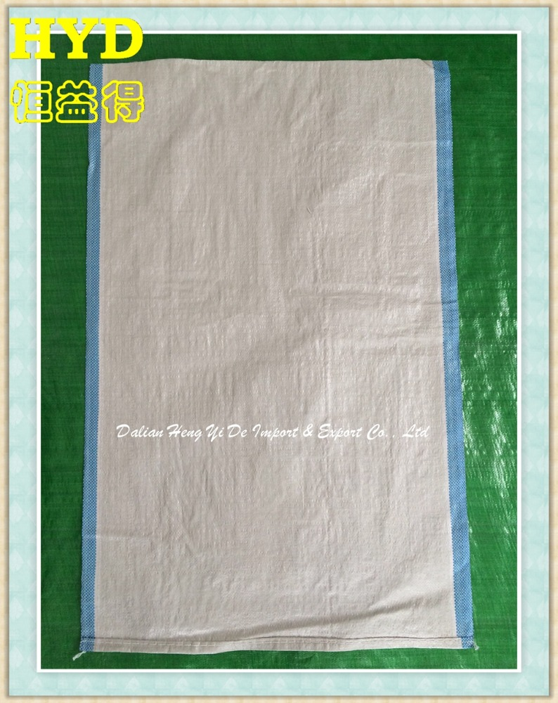 2016 green garbage pp woven sacks/film laminated pp woven bag for sand,building material,chemical,fertilizer,flour ,sugar