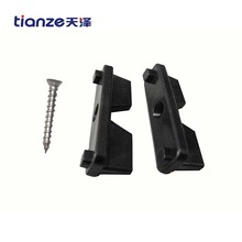 WPC decking installated accessories plastic clip