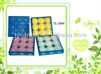 14g smoke-free wax tea candle lights activities pose white 50PCS/box /Burn 4 hours, for candlestick/Candle holder
