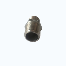 bsp npt threaded ss 316 pipe 4 inch stainless steel pipe hexagon nipple