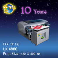 Hot selling A2 UV digital silicone bracelet printer
