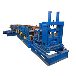 Metal Steel Roof building material Roll Forming U C Z Purlin Machines For Sale