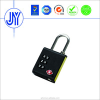 Hot Sell TSA 3 digit plastic padlock