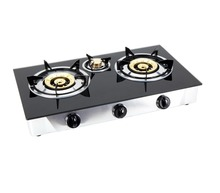 Custom brand Double gas plate cooking stove /glass top gas ranges