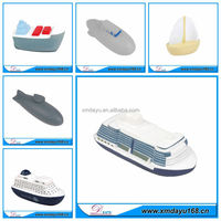PU Stress Ball Ship Shaped For Promotional