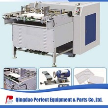 Gray paperboard V slotting machine for small paper box making