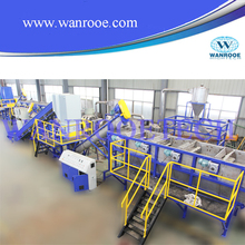 waste plastic washing and recycling line