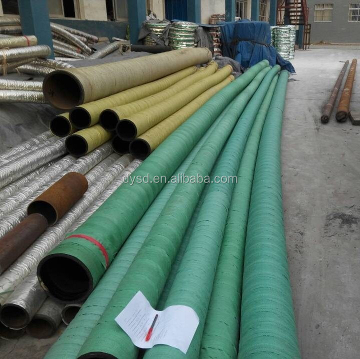 fabric braided rubber oil delivery hose for marine use