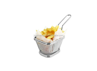 Stainless Steel Rectangular Frying Dumpling Colander