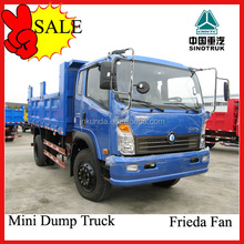 SINOTRUK CDW 6 wheels small dump truck pirces in dubai