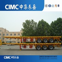 CIMC Flat Bed Semi Trailers for Containers and Bulk Cargo Trailer 20315