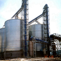 2015 hot sell chicken poultry feed small grain silo for sale
