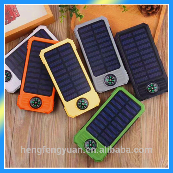 Lowest Price For Good Quality Solar Power Bank 12000mAh