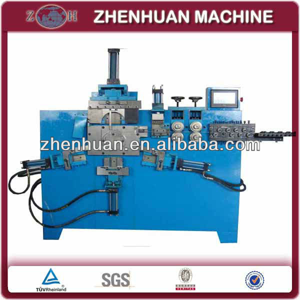 Galvanized wire handle making machine