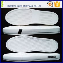 Midsole egg-crate construction for vulcanized like board feel and flexibility KSMT-1702 canvas rubber classic skate shoes soles