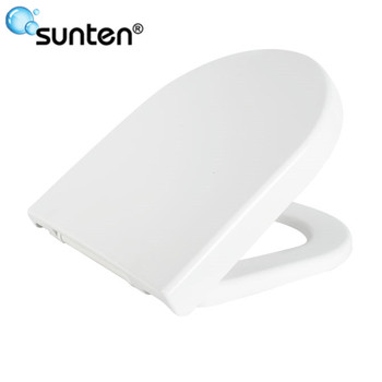 Xiamen Sanitary Quick Release Soft Close D Shape Toilet Seat