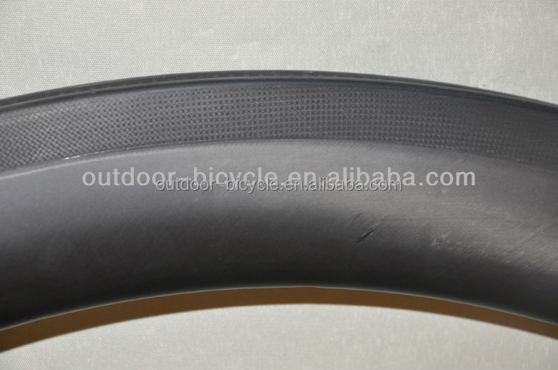 New aero design 700C carbon road bike 40mm clincher rim with UD matte finish