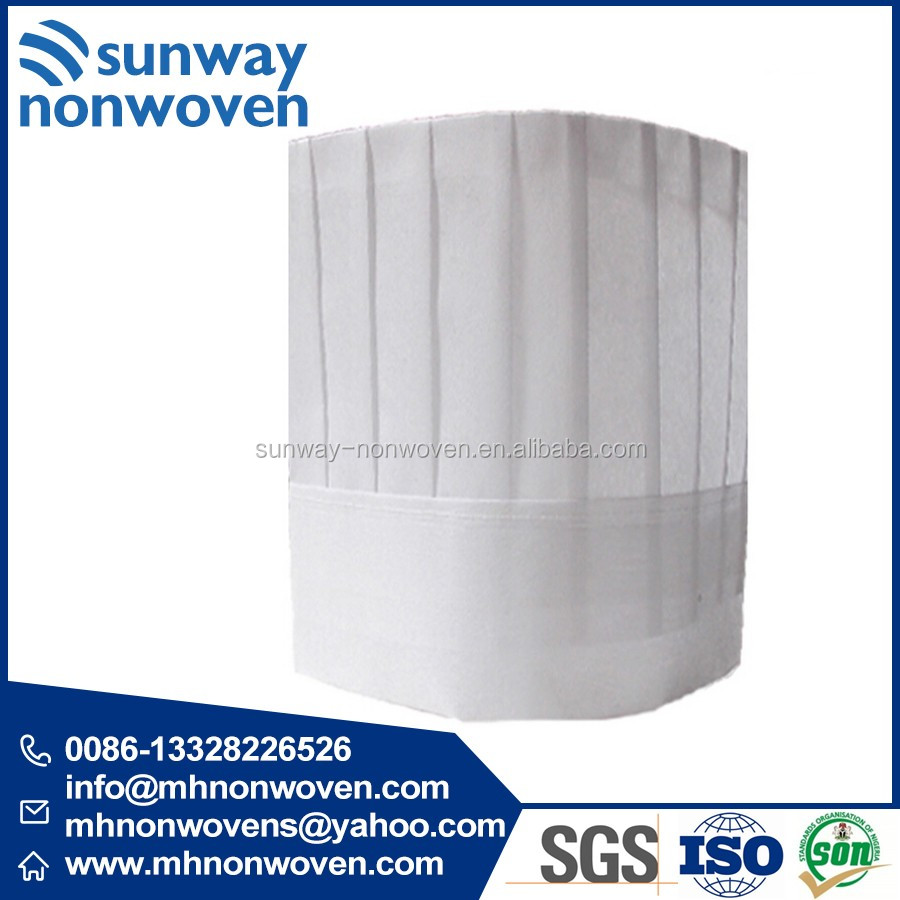 Tailoring Materials Nonwoven Chef Hat Making Materials In China