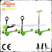 Whosales Cheap design 3 in 1 mini scooter with 3 wheel electric Scooter