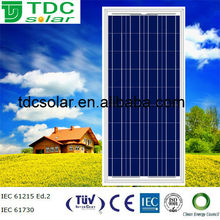 Photovoltaic 130W poly Solar panel