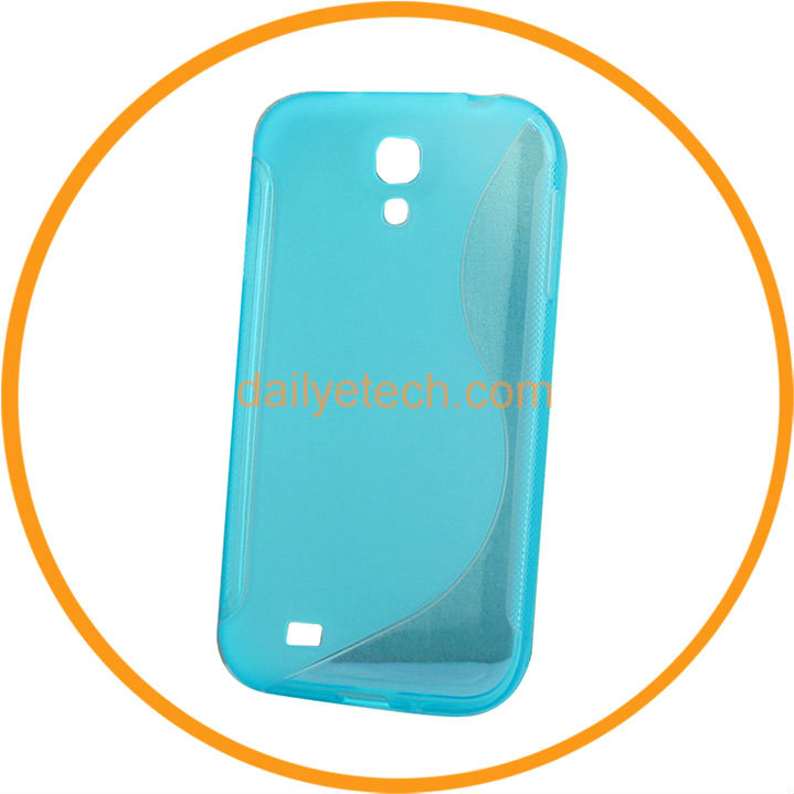 2013 Hot Sell S Line GEL Soft Skin Cover Matte TPU Cover for Samsung Galaxy S4 i9500 from Dailyetech