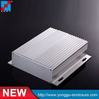Top Quality Factory Price Waterproof Enclosure case aluminum extruded enclosure anodized